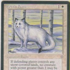 Trading Cards: MTG MAGIC THE GATHERING ARCTIC FOXES SUMMON FOXES CARD NAIPE CROMO M. Lote 290146263