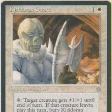 Trading Cards: MTG MAGIC THE GATHERING KJELDORAN GUARD SUMMON SOLDIER CARD NAIPE CROMO M. Lote 290146288