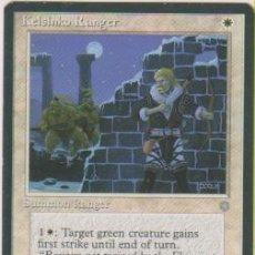Trading Cards: MTG MAGIC THE GATHERING KELSINKO RANGER SUMMON RANGER CARD NAIPE CROMO M. Lote 290146353