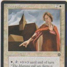 Trading Cards: MTG MAGIC THE GATHERING ABBEY MATRON SUMMON CLERIC CARD NAIPE CROMO M. Lote 290146368