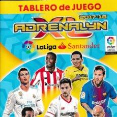 Trading Cards: TABLERO DE JUEGO DE TRADING CARDS ADRENALYN TEMPORADA 2017-18 - PESO: 72 GRAMOS -. Lote 294076178