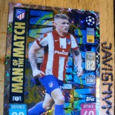 Trading Cards: MATCH ATTAX CHAMPIONS 2021 2022 21 22 TOPPS MAN OF THE MATCH Nº 399 TRIPPER ATLETICO DE MADRID. Lote 294372953