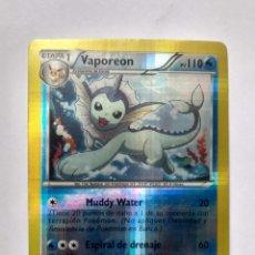 Trading Cards: CARTA TRADING CARDS POKÉMON - 2012 - VAPOREON HOLO - 25/108. Lote 294577578