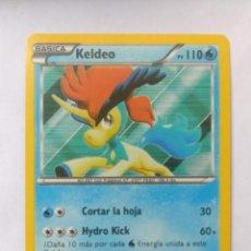 Trading Cards: CARTA TRADING CARDS POKÉMON - 2012 - KELDEO 47/149. Lote 294579043