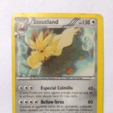 Trading Cards: CARTA TRADING CARDS POKÉMON - 2012 - STOUTLAND 88/149. Lote 294807648