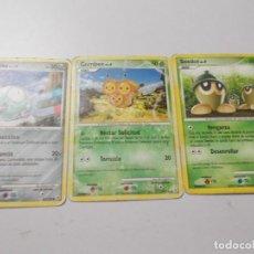Trading Cards: POKEMON AÑO 2007 3 CARTAS. Lote 294830058