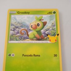 Trading Cards: 8 GROOKEY POKEMON MC DONALD ANIVERSARIO. Lote 294835343