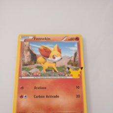 Trading Cards: 14 FENNEKIN POKEMON MC DONALD ANIVERSARIO. Lote 294835778