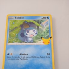 Trading Cards: 24 SOBBLE POKEMON MC DONALD ANIVERSARIO. Lote 294836648