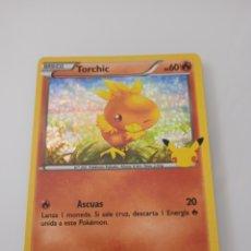 Trading Cards: 11 TORCHIC HOLOGRÁFICA POKEMON MC DONALD. Lote 294836988