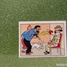 Trading Cards: CROMO TINTIN Nº 109 ÁLBUM PANINI 1989. Lote 295483908