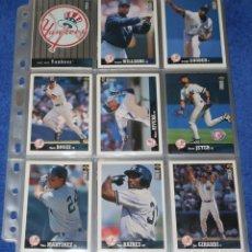 Trading Cards: BASEBALL CARDS - UPPER DECK - 1997 ¡COLECCIÓN COMPLETA!. Lote 296069273