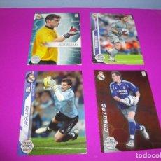 Trading Cards: IKER CASILLAS. MEGA PORTEROS MEGACRACKS MEGA ESTRELLAS 2005/2006. Lote 296706748
