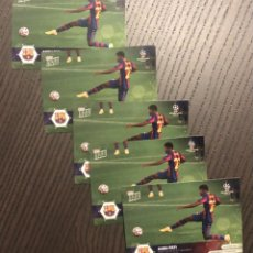 Trading Cards: TOPPS NOW ANSU FATI FCBARCELONA 20/21 LOTE 5 TRADING CARDS. Lote 296753208