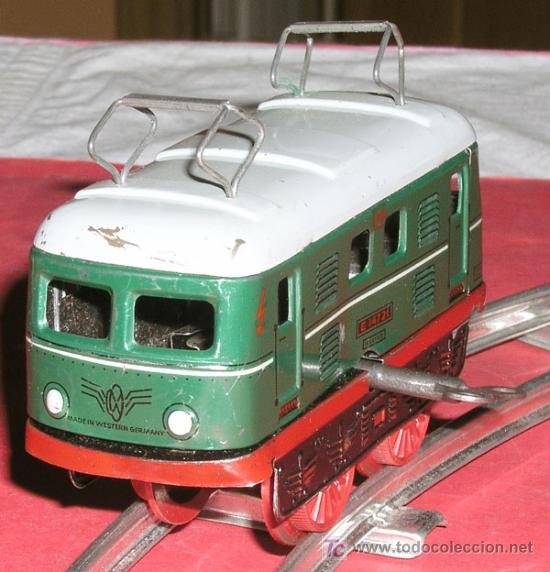 Trenes Escala: LOCOMOTORA DE CUERDA - Foto 2 - 12270275