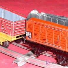 Trenes Escala: DOS VAGONES . Lote 6505265