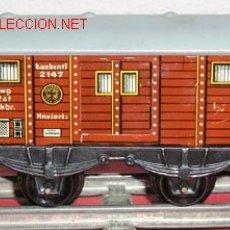 Trenes Escala: VAGON MERCANCIAS HWM. Lote 12270278