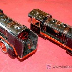 Trenes Escala: DOS LOCOMOTORAS DE CUERDA. Lote 11111448
