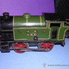 Trenes Escala: HORNBY LOCOMOTORA LNER 1926. ESCALA 0. A CUERDA. Lote 94555270