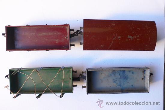 Trenes Escala: JOSFEL- Locomotora, Tender y cuatro Vagones. Escala 0 - Vell i Bell - Foto 9 - 27632032