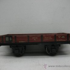 Trenes Escala: MARKLIN 17640R -VAGON DE MERCANCIAS ABIERTO -ESCALA 0-. Lote 28919219