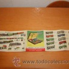 Trenes Escala: PAYA CATALOGO DE JUGUETES Y TRENES ESCALA 0. Lote 29519552