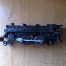 Trenes Escala: LOCOMOTORA DE TREN AMERICANA MARCA LIONEL MODELO 027 ESCALA 0 LIONEL, FUNCIONANDO !!!. Lote 29980091