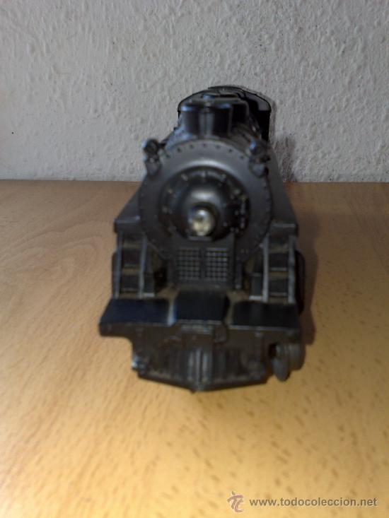 Trenes Escala: LOCOMOTORA DE TREN AMERICANA MARCA LIONEL MODELO 027 ESCALA 0 LIONEL, FUNCIONANDO !!! - Foto 2 - 29980091