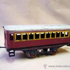 Trenes Escala: VAGON DE TREN DE PASAJEROS, TREN ESCALA 0, FABRICADO POR PAYA. Lote 31128812