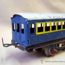 Trenes Escala: VAGON DE TREN DE PASAJEROS, TREN ESCALA 0, FABRICADO POR PAYA. Lote 31128855