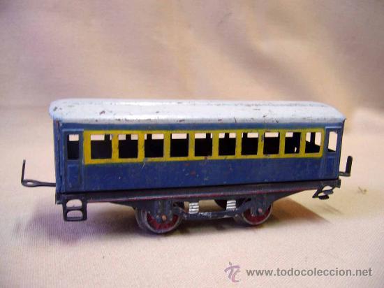 Trenes Escala: VAGON DE TREN DE PASAJEROS, TREN ESCALA 0, FABRICADO POR PAYA - Foto 3 - 31128855