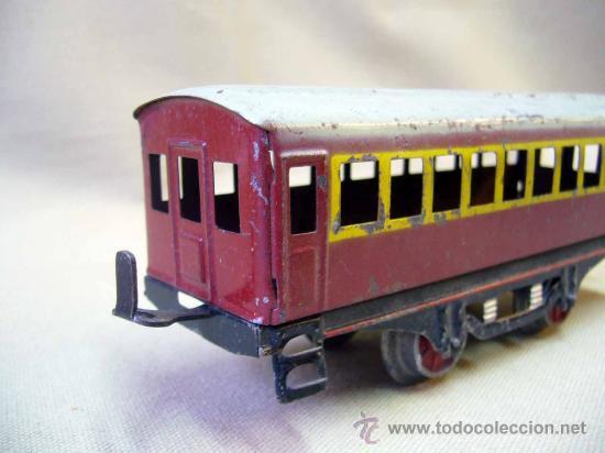 Trenes Escala: VAGON DE TREN DE PASAJEROS, TREN ESCALA 0, FABRICADO POR PAYA - Foto 2 - 31128812