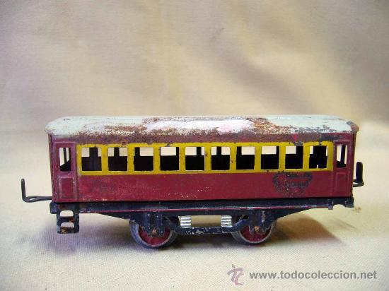 Trenes Escala: VAGON DE TREN DE PASAJEROS, TREN ESCALA 0, FABRICADO POR PAYA - Foto 3 - 31128812
