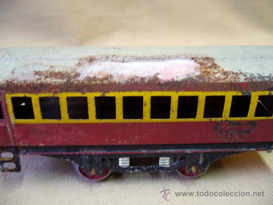 Trenes Escala: VAGON DE TREN DE PASAJEROS, TREN ESCALA 0, FABRICADO POR PAYA - Foto 4 - 31128812
