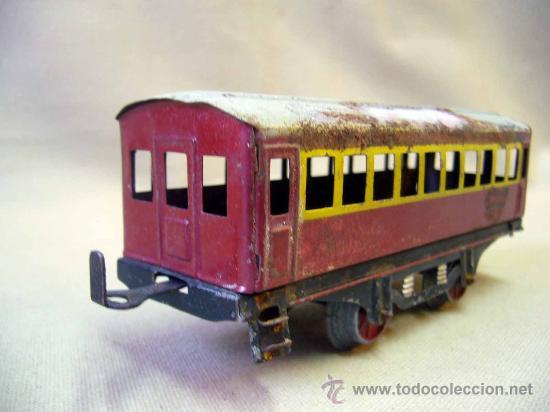 Trenes Escala: VAGON DE TREN DE PASAJEROS, TREN ESCALA 0, FABRICADO POR PAYA - Foto 5 - 31128812