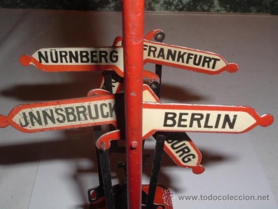 Trenes Escala: SEÑALIZACION DIRECCIONES TREN. MARKLIN ?, BING ? - Foto 8 - 32579648