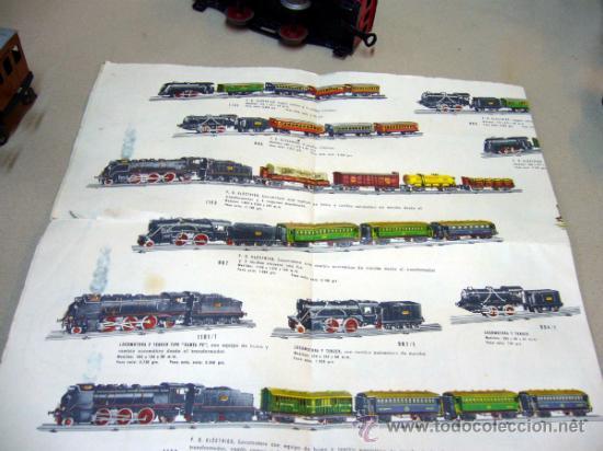 Trenes Escala: TREN ELECTRICO, FABRICADO POR PAYA, ESCALA O, SIN VIAS, MODELO 1100, CON SU CAJA - Foto 9 - 32995124