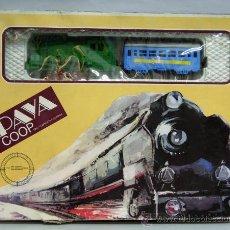 Trenes Escala: TREN PAYA COPERATIVA A RESORTE ESCALA 0. Lote 33817127