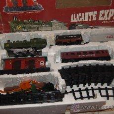 Trenes Escala: 31-177 Y 185. VENDO DOS TRENES. ALICANTE EXPRESS. Lote 34566159