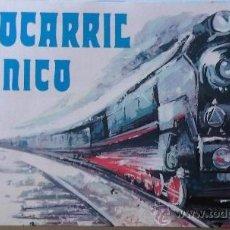 Trenes Escala: TREN FERROCARRIL MECANICO PAYA ESCALA 0. Lote 37564903