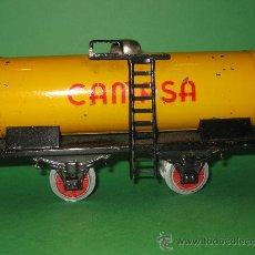 Trenes Escala: VAGON CAMPSA DE RICO-ESCALA 0 -AÑOS 50/60. Lote 38595575