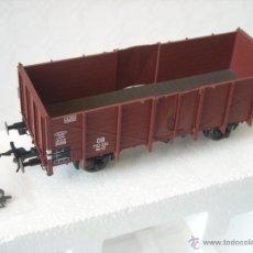 Trenes Escala: LENZ REF 42110 VAGON MERCANCIAS OM12 725 801 DE LA DB ESCALA 0 NUEVO SPUR0. Lote 40614511