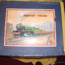 Trenes Escala: HORNBY TRAIN SET MADE IN ENGLAND, TREN ANTIGUO , JUGUETE ANTIGUO. Lote 40770211