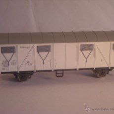 Trenes Escala: POLA MAXI ESCALA 0 VAGON MERCANCIAS CERRADO DE LA DB EJES METAL. Lote 42816507