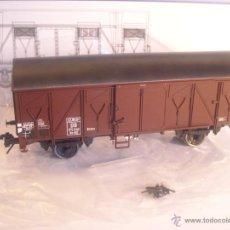 Trenes Escala: MBW ESCALA 0 REF 80067 1:43.5 VAGON MERCANCIAS CERRADO 175 042 DB NUEVO SPUR0. Lote 43094832