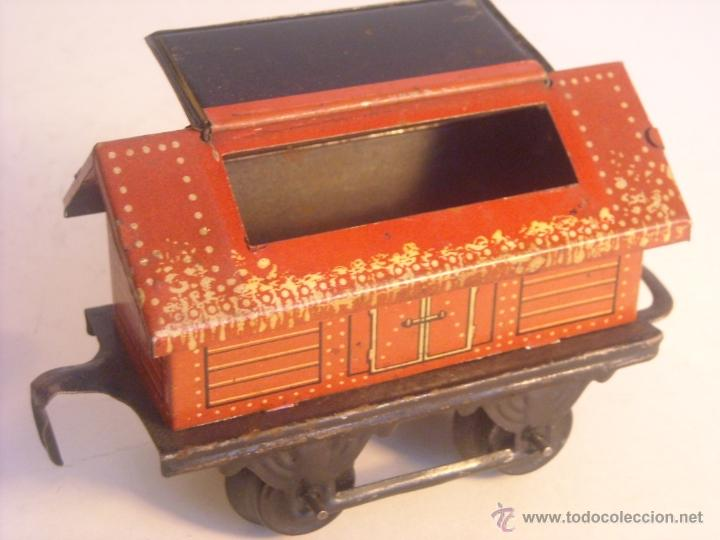 Trenes Escala: Antiguo vagon mercancias bing marklin bub ?? made in germany vagon escala 0 - Foto 5 - 43765469