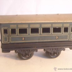 Trenes Escala: ANTIGUO COCHE PASAJEROS BING MARKLIN BUB ?? MADE IN GERMANY VAGON ESCALA 0. Lote 43765482