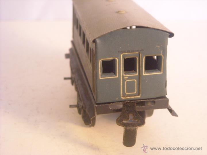 Trenes Escala: Antiguo coche pasajeros bing marklin bub ?? made in germany vagon escala 0 - Foto 2 - 43765482