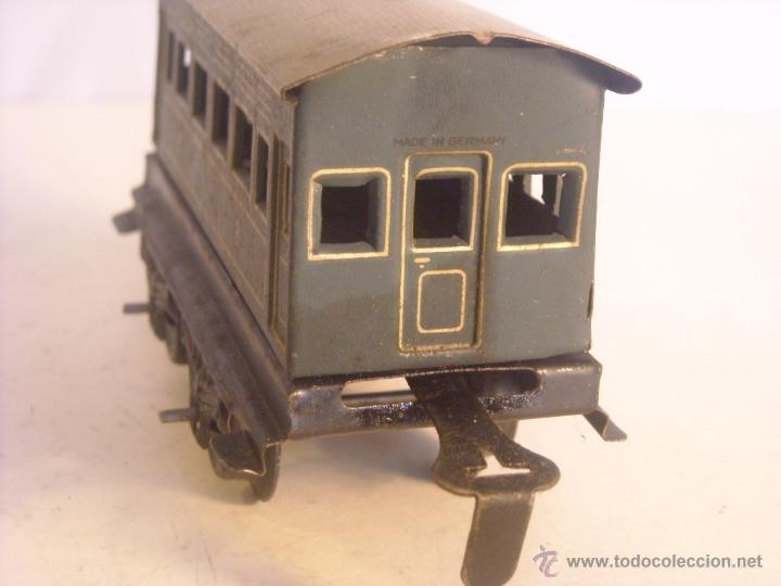 Trenes Escala: Antiguo coche pasajeros bing marklin bub ?? made in germany vagon escala 0 - Foto 4 - 43765482