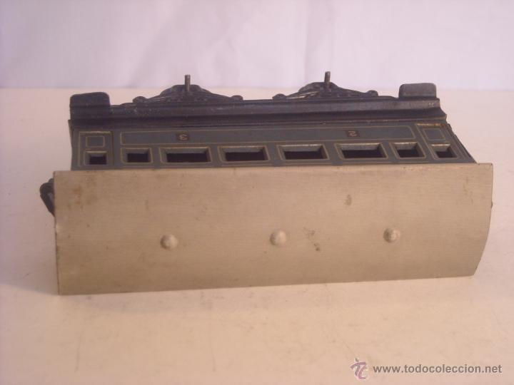 Trenes Escala: Antiguo coche pasajeros bing marklin bub ?? made in germany vagon escala 0 - Foto 5 - 43765482